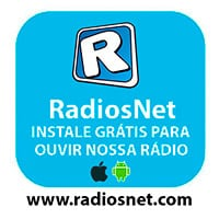 Instale grátis o RadiosNet e ouça nossa rádio  em seu celular ou table