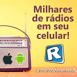 Baixe o APP e ouça nossa rádio em seu celular ou tablet