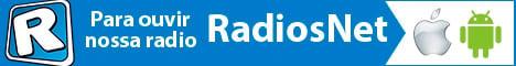 Baixe o APP RadiosNet em seu celular ou tablet e ouça nossa rádio em qualquer lugar