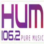 Logo da emissora Radio HUM 106.2 FM