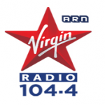 Logo da emissora Radio Virgin Dubai FM 104.4