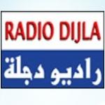 Logo da emissora Dijla 105.2 FM