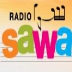 Logo da emissora Sawa 100.4 FM