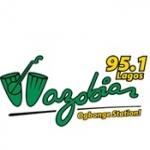 Logo da emissora Radio Wazobia 95.1 FM