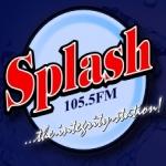 Logo da emissora Radio Splash 105.5 FM