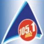 Logo da emissora R�dio Atl�ntico 105.1 FM