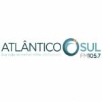 Logo da emissora R�dio Atl�ntico Sul 105.7 FM