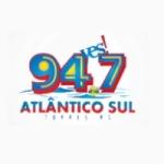Logo da emissora Rádio Atlântico Sul 94.7 FM