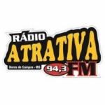 Logo da emissora Rádio Atrativa 94.3 FM