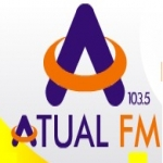 Logo da emissora Rádio Atual 103.5 FM