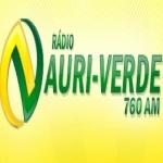 Logo da emissora R�dio Auriverde 760 AM