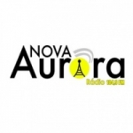 Logo da emissora R�dio Aurora 104.9 FM