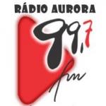 Logo da emissora R�dio Aurora 99.7 FM