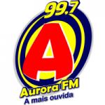 Logo da emissora Rádio Aurora 99.7 FM