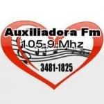 Logo da emissora Rádio Auxiliadora 105.9 FM
