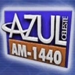 Logo da emissora R�dio Azul Celeste 1440 AM