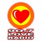Logo da emissora Radio Love Manilla 90.7 FM