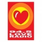 Logo da emissora Radio Love Santiago 94.5 FM
