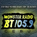 Logo da emissora Radio Monster BT 105.9 FM