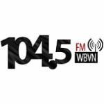 Logo da emissora Radio WBVN 104.5 FM