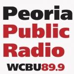 Logo da emissora Radio WCBU 89.9 FM