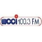 Logo da emissora Radio WCCI 100.3 FM