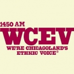 Logo da emissora WCEV 1450 AM