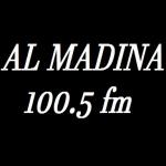 Logo da emissora Al Madina 100.5 FM