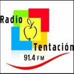 Logo da emissora Radio Tentacion 91.5 FM