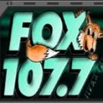 Logo da emissora WFXX 107.7 FM Fox