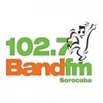 Logo da emissora Rádio Band 102.7 FM