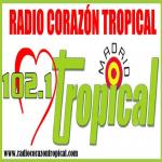 Logo da emissora Radio Corazón Tropical Madrid 103.7 FM