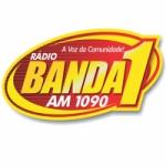 Logo da emissora Rádio Banda 1 AM 1090