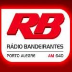 Logo da emissora R�dio Bandeirantes 640 AM