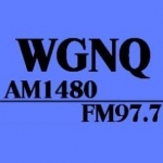 Logo da emissora WGNQ 1480 AM