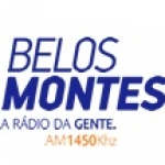 Logo da emissora R�dio Belos Montes 1450 AM
