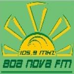 Logo da emissora R�dio Boa Nova 105.9 FM