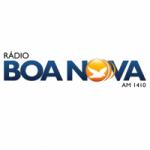 Logo da emissora Rádio Boa Nova 1410 AM