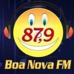Logo da emissora R�dio Boa Nova 87.9 FM