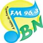 Logo da emissora R�dio Boa Nova 96.3 FM