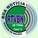 Logo da emissora Rádio Boa Notícia 770 AM
