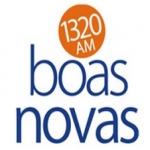 Logo da emissora Rádio Boas Novas 1320 AM