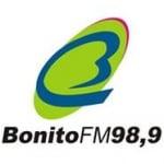 Logo da emissora Rádio Bonito 98.9 FM