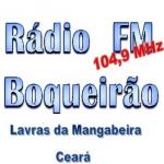 Logo da emissora R�dio Boqueir�o 104.9 FM