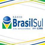 Logo da emissora Rádio Brasil Sul 1290 AM