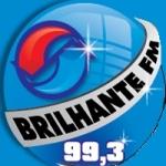 Logo da emissora R�dio Brilhante 99.3 FM