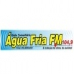 Logo da emissora R�dio �gua Fria 104.9 FM