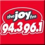 Logo da emissora WIZB The Joy 94.3 FM 96.1 FM