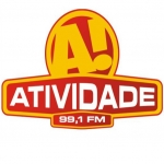 Logo da emissora Rádio Atividade 99.1 FM