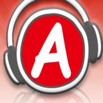 Logo da emissora Apple Line 106.5 FM